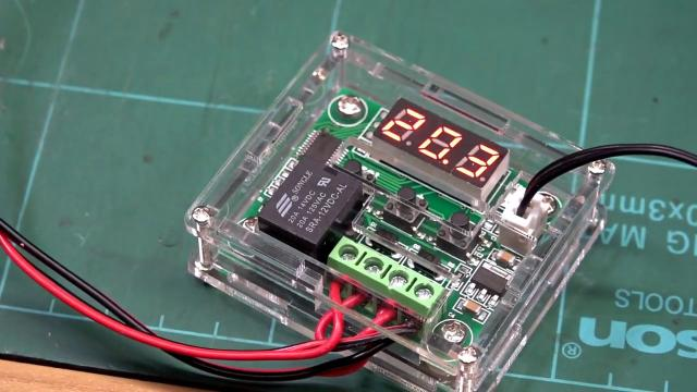 Temperature Controller Module with Case