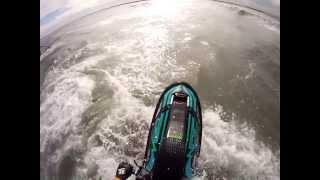 GoPro: No Trim Backflip/Roll Practice At Sebastian Inlet, FL : Jet Ski Freeride