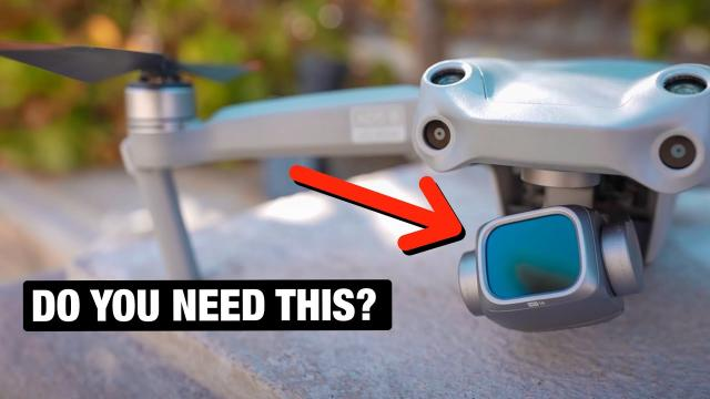 Do you need ND Filters on a Drone?