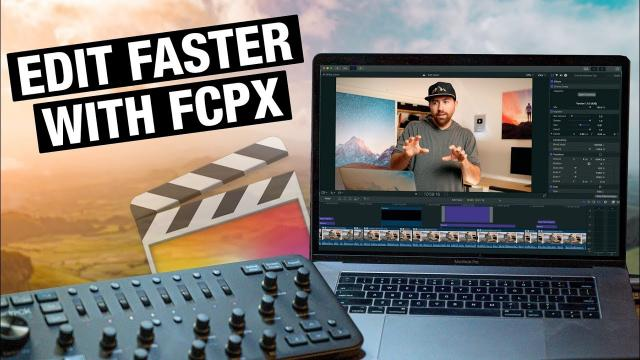8 Ways to EDIT FASTER in FCPX & Why I started Using a Loupedeck +
