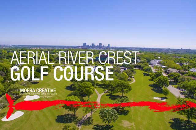 DJI Inspire 1 - Aerial of River Crest Golf Course