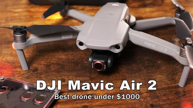 The DJI Mavic Air 2 - An Impressive Contender at a Low Price