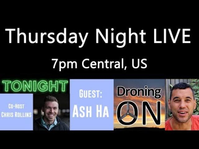 Ken Heron - TNL (Show #91) Ash (DroningOn) and Freewell Filter giveaway