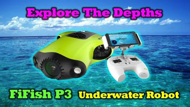 Amazing Underwater Drone - Fifish - Unboxing & Overview