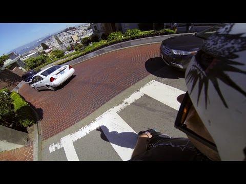 GoPro: Freeboarding Down Lombard Street