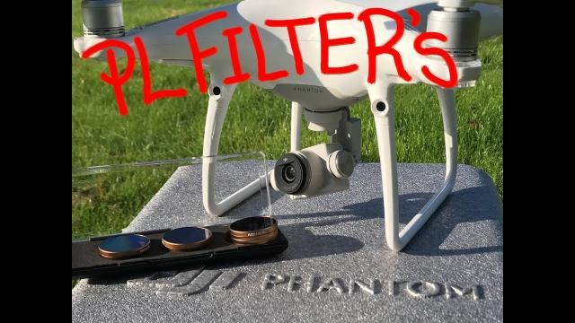 What do the Phantom 4 Pro PolarPro Drone PL Filters Do?
