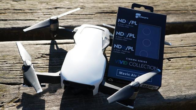 DJI Mavic Air Polar Pro Filters | You Need Them