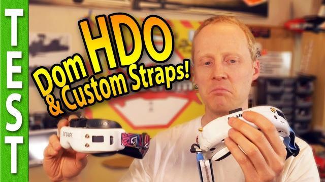 Fatshark Dominator HDO, customizable GOGGLE STRAPS