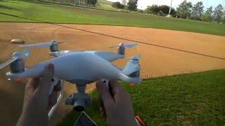 Flight test, DJI PHANTOM 4, object avoidance, Sport Mode and more