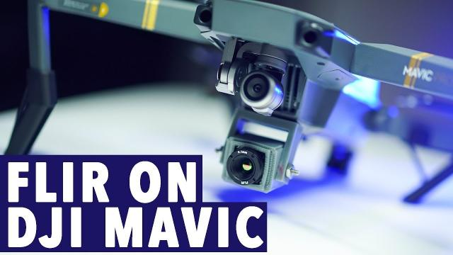 DJI Mavic FLIR Camera! THERMAL IMAGING SOLUTION KIT!