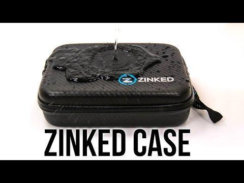 Zinked Case - Splash Proof Tested!