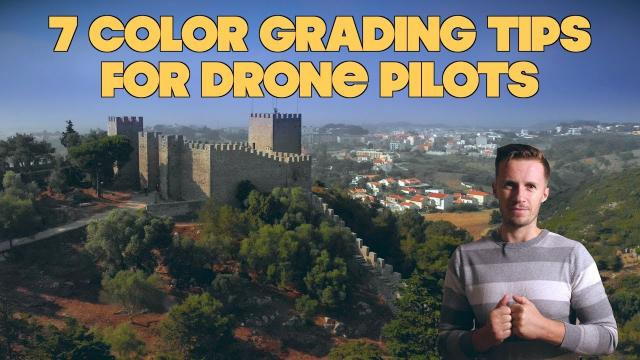 7 Color Grading Concepts For Your Drone Footage!