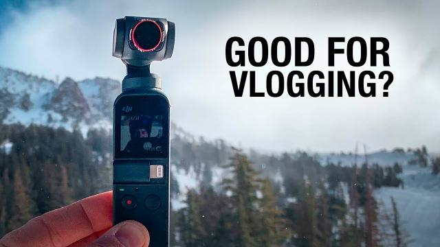 First Snowboarder on Mammoth - DJI OSMO POCKET Vlog