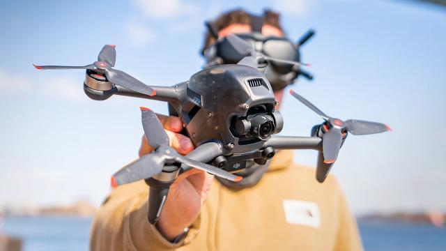 DJI FPV Drone Full Flight & Impressions