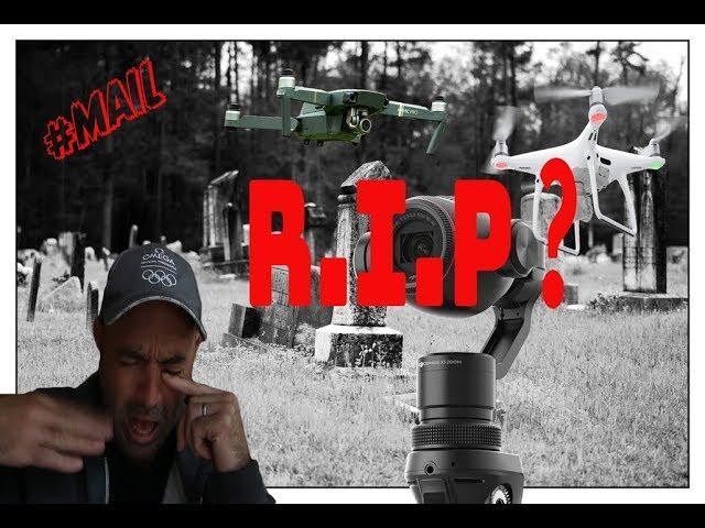 R.I.P DJI Mavic Pro, Phantom 4, Osmo etc ..What is the DJI End of Life List?? //#MAIL-79