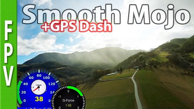 Smooth Mojo (gopro7 hypersmooth, racerender, gps dashboard)