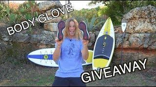 GIVEAWAY!!!  Body Glove Paddle Board + Water Shoes
