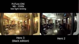 gopro p fps  auto low light comparison in tip ad