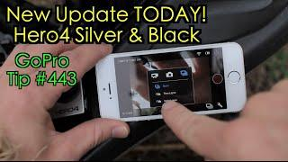 Hero4 - New Update Today! Quick Review Too! GoPro Tip #443