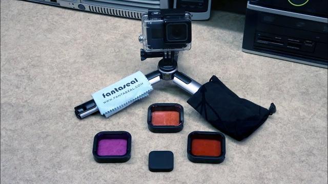 GoPro Hero 7 6 5 Black Dive Lens Filter Kit
