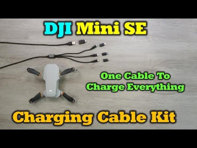 One Cable To Charge Everything - Mini SE Charging Cable Kit