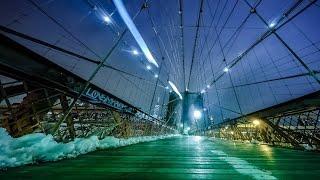 GoPro Hero4 Motion Night Time Lapse NYC 4K (MYRMICA Slider)