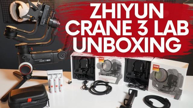 ZHIYUN CRANE 3 LAB UNBOXING