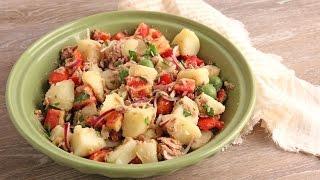 Potato and Tuna Salad Recipe ???? Episode 1079