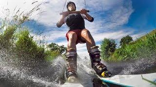 GoPro: River Skiing in France