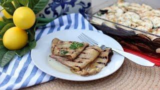 Nonna's Famous Marinated Eggplant