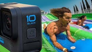 GoPro HERO10: POWERFUL + FASTER + SUPER slow motion baby! Review + Giveaway! | MicBergsma