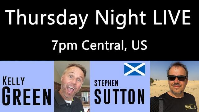 Ken Heron - TNL (Show #209) Stephen Sutton - The FlyByGuys