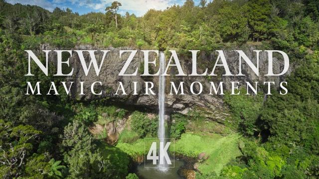 Mavic Air Scenes from New Zealand (4K)