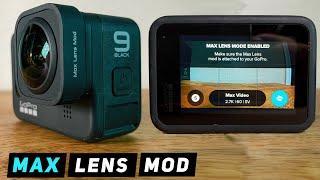 Max Lens Mod for GoPro HERO9 - HOW TO SET UP / GET STARTED  - GoPro Tip #686 | MicBergsma