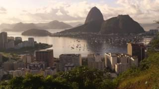 Daylight Tracking Shot Of Boats In Harbor And Guanabara Bay.