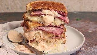 Reuben Sandwiches (Leftover Corned Beef)