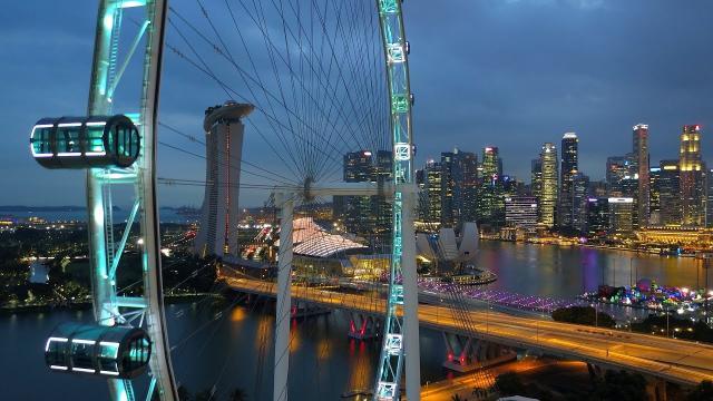 DJI MAVIC PRO - MARINA BAY SINGAPORE II