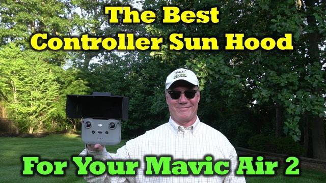 Mavic Air 2   Sun Hood Review