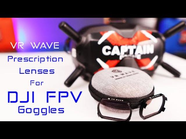 DJI FPV Goggles - Prescription Lenses from VR Wave - Everything is so clear now!