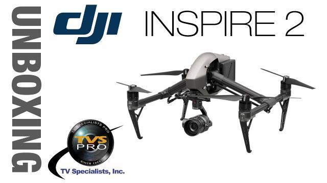 DJI Inspire 2 Unboxing & FPV Camera