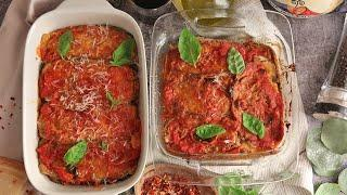 Eggplant Parm Two Ways