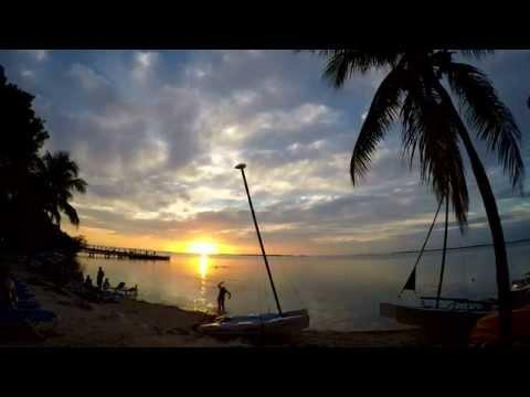 GoPro Sunset Key Largo Hero4 Video Time-Lapse