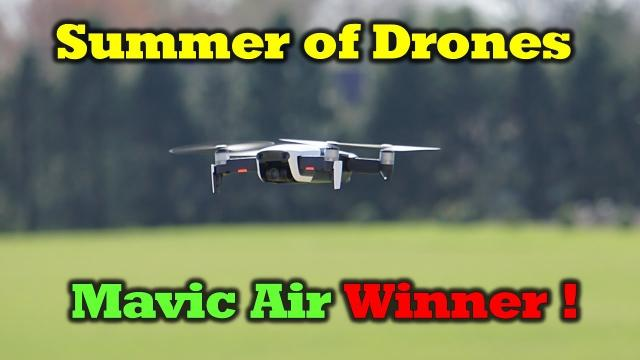 Summer of Drones - Mavic Air Winner!