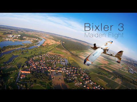 Bixler 3 Maiden Flight | GoPro Hero 3 FPV | HobbyKing Bix3 RC Plane