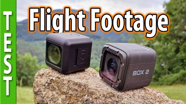 Runcam 5 vs Foxeer Box2 - Flight footage and CRASHTEST