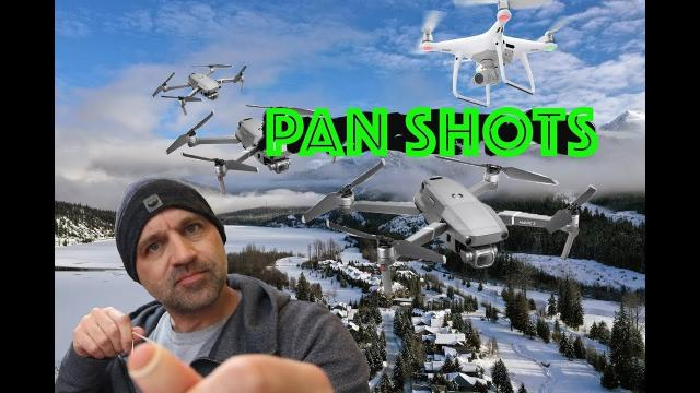 How to get Perfect Cinematic Drone Aerial Camera Pans