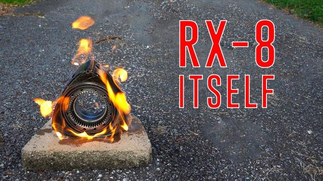 Rotary Engine DESTROYED on dash cam   Chicago Road Trip RX-8