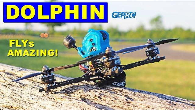 GEPRC Dolphin HD - WOW! This FPV Drone flys Amazingly & Survives Crashes! Review