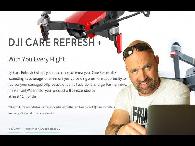 DJI Care Refresh + 2 yrs cover for your DJI Drone
