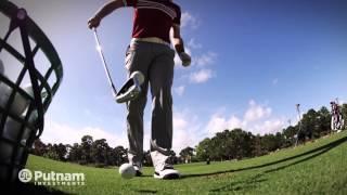 Pro Golfer Keegan Bradley Vs DJI Phantom GoPro Drone